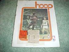 1977 New York Knicks v Milwaukee Bucks Basketball Program 2/18 with tickets