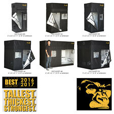 Gorilla SHORTY Grow Tent Room Kit Setup Hydroponics + FREE Height Extension Kit