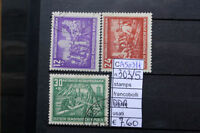 FRANCOBOLLI STAMPS GERMANIA GERMANY D.D.R. USATI USED N°303/05 (A50311)