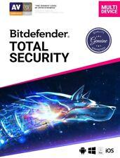 Bitdefender Total Security 2020 ✔️ 90 DAYS / 5 PCs ✔️🔥 GENIUNE ACTIVATION 🔥