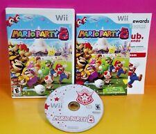 Mario Party 8 - Nintendo Wii /Wii U Game Rare Complete - Wario Yoshi 1-4 Playr