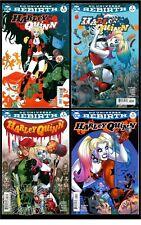 HARLEY QUINN Vol.3 #1,2,3,4-REG. CVRS SET(BATMAN/JOKER)CGC 'EM(9.6/9.8)REBIRTH!!