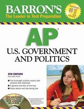 Barron's AP U.S. Government and Politics with CD-ROM (Barron's AP United States