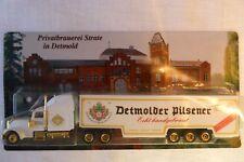 Spielzeugauto LKW Werbung Detmolder Pilsener OVP