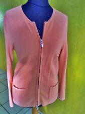 Damen-Strickjacke von Gerry Weber, apricotfarben, Größe 42, Langarm