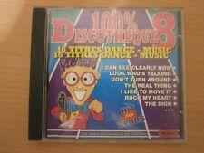 CD AUDIO - 100 % DISCOTHEQUE - VOL 8 - PAR TONY BRAM'S - réf cd6