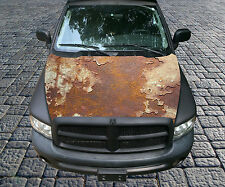 H113 RUST RUSTY RUSTED Hood Wrap Wraps Decal Sticker Tint Vinyl Image Graphic