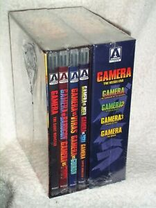 Gamera The Heisei & Showa Era Complete Series (Blu-ray, 2021, 8-Disc) monsters