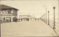 Long Beach Long Island NY Boardwalk c1910 Real Photo Postcard