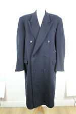 Simpson Wool & Cashmere Navy Coat Size 42.5R