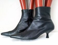 New Wave Leather Vintage Boots for Women