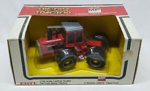 Massey Ferguson 4900 4wd Articulating Tractor 1/32 Scale By Ertl