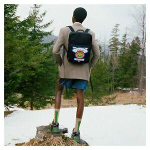Gucci Backpack Black Loved GG Bag Nylon Vintage 80's 5367248564 285123E