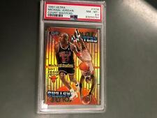 Michael Jordan 1997 Ultra Court Masters Insert #1CM PSA 8.5 NM-MT+ Bulls