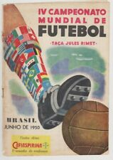More details for official 108 page programme for spain v england 1950 world cup in rio de janeiro