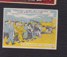 Ancienne petite étiquette allumettes Chine BN122144 Femme Homme