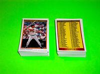 1991 1992 O PEE CHEE OPC PREMIER MLB BASEBALL 132 CARD COMPLETE SET