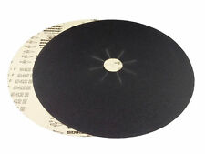"""17"""" x 2"""" Silicon Carbide Slotted Edger Floor Sanding Discs (10 Pack, 100 Grit)"""