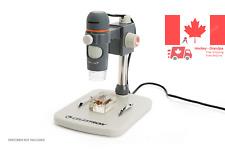 Handheld Digital Microscope with 5 Element IR Cut High Quality Glass Lens