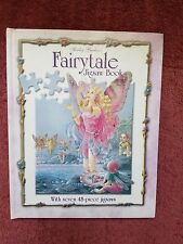 FAIRYTALE JIGSAW BOOK with 7 ~~ 48-PIECE JIGSAWS ~~ FREE SHIPPING!!