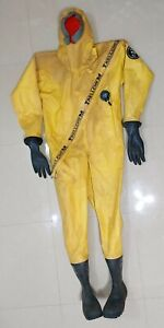 Trellchem VPS Chemical Protective Suit From Trelleborg ( Size: L )