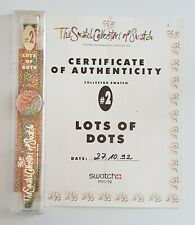 Swatch Gent GZ121 Lots Of Dots - Club Collector Special 1992