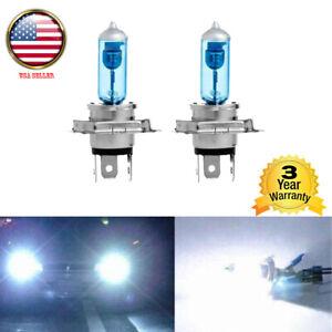 2X H4 HID Xenon White Headlight DRL Daytime Runing Halogen Bulb Lamp Light 100W