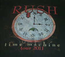 RUSH Time Machine Tour 2011 Concert T-Shirt Sz Small Perfectly Faded 2-sided