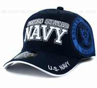 U.S. NAVY hat Military NAVY Official Licensed Baseball cap Strap- Navy Blue
