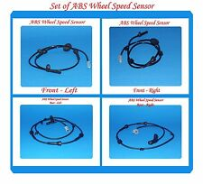 4 ABS Wheel Speed Sensor Front- Rear Left & Right Fits: Nissan Murano 2003-2008