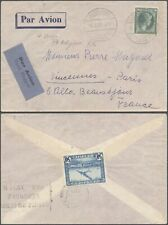 Luxembourg 1938 - Air Mail Cover to France D7