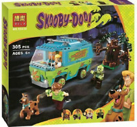 10430 New Scooby Doo Mystery Machine Bus Building Block Toys Set Bricks 305Pcs