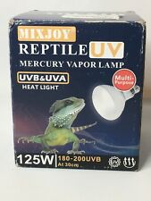 Reptile Uv Lamp Mercury Vapor Lamp 125W