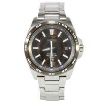 Seiko Criteria SNG097 P1 Silver Bronze Dial Kinetic Men's Automatic Watch