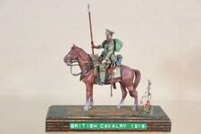 HISTOREX WWI MOUNTED BRITISH ARMY CAVALRY LANCER TROOPER 1916 nv
