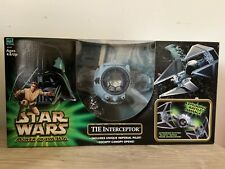 Hasbro: Star Wars Power Of The Jedi TIE Interceptor Includes Pilot