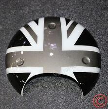 FOR MINI COOPER S R56 R58 R60 R61 TACHOMETER COVER UNION JACK UK FlAG BLACK GRAY