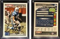 Dallas Clark Signed 2004 Topps Total #157 Card Indianapolis Colts Auto Autograph