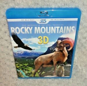 Rocky Mountains 3D The Impressive Natural Paradise (3D & 2D Blu Ray)