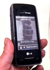 LG Voyager VX10000 Verizon Phone BLACK video camera vCast bluetooth flip-qwerty