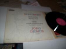 JORG DEMUS PINK LABEL PROMO LP SCHUBERT MOMENTS OP 94 DECCA MONO RARE DL-10004
