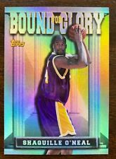 1997-98 Topps Bound for Glory Insert SHAQUILLE O'NEAL #BG12, Los Angeles Lakers