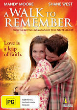Mandy Moore Shane West A WALK TO REMEMBER - ROMANTIC DRAMA DVD