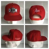 MF DOOM SNAPBACK HAT MC RAPPER RED CAP