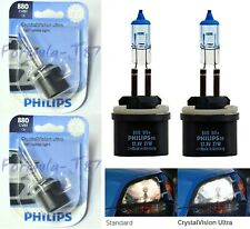 Philips Crystal Vision Ultra 880 H27 27W Two Bulbs Fog Light Replacement Upgrade