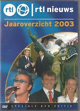 RTL Nieuws Jaaroverzicht 2003  nieuwe dvd