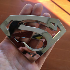 SUPERMAN 3D EMBLEM,BADGE,DECAL,STICKER (SET OF 2) FOR CARS TRUCKS Free Shipping