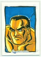 2007 RITTENHOUSE DC LEGACY SKETCH CARD by RICH MOLINELLI 1/1