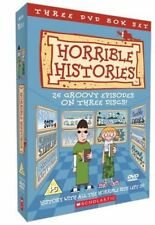 HORRIBLE HISTORIES NEW 3 DVD BOXSET 26 GROOVY EPISODES THE COMPLETE TV SERIES