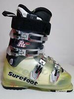 Lange RX 90 Surefoot Womens Green Ski Boots Size 24 - 24.5 286mm